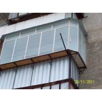 кованые балконы КБ014