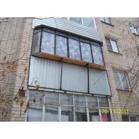 кованые балконы КБ015