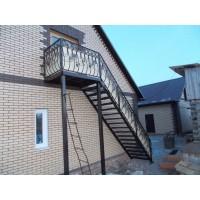 кованые балконы КБ016