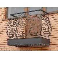 кованые балконы КБ017