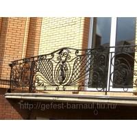 кованые балконы КБ018