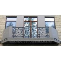 кованые балконы КБ019