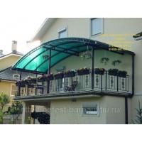 кованые балконы КБ020