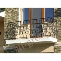 кованые балконы КБ021