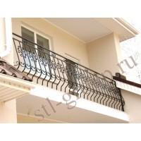 кованые балконы КБ023