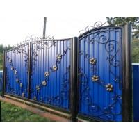 ворота кованые В002