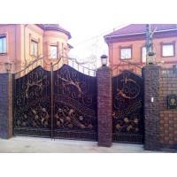 ворота кованые В003