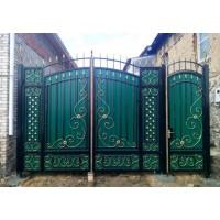 ворота кованые В009