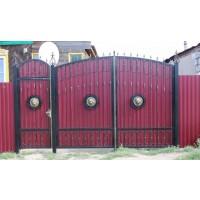 ворота кованые В013