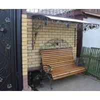 кованые скамейки С007