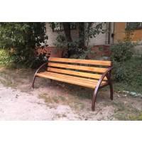 кованые скамейки С008