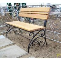 кованые скамейки С009