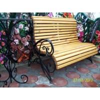 кованые скамейки С010