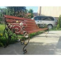 кованые скамейки С011