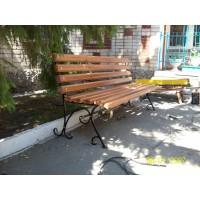 кованые скамейки С012