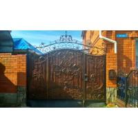 Ворота кованые В086