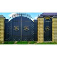Ворота кованые В087