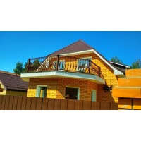 кованые балконы КБ025