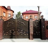 Ворота кованые В088