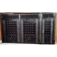 Ворота кованые В089