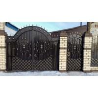 Ворота кованые В090